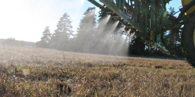 """""""Ingen jordbrukare använder växtskyddsmedel för sakens skull"""""""