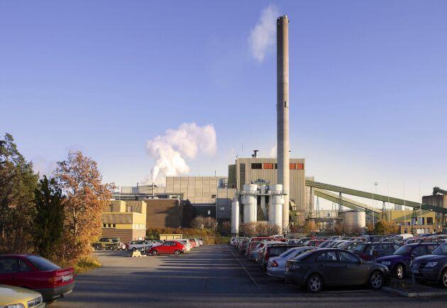 Här vid Holmen Papers pappersbruk Braviken har forskarna utvecklat en effektivare metod för att tillverka papper och kartong.
