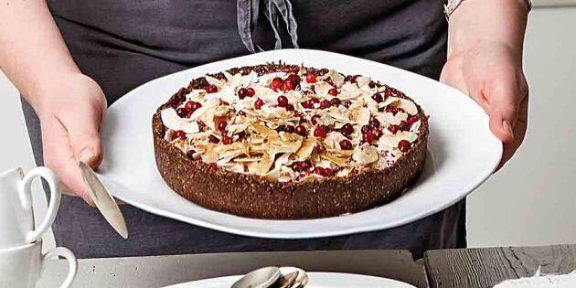 Underbar glutenfri kaka med lakrits!