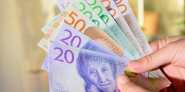 Allt fler svenskar vill ha kvar kontanter i framtiden