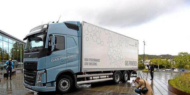 Gas är framtidens bränsle för lastbilar