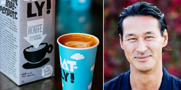 Oatly:s VD Toni Petersson.