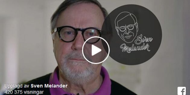 """Nu ger sig Sven Melander in i BB-debatten: """"Stäng ner hela Norrland"""""""