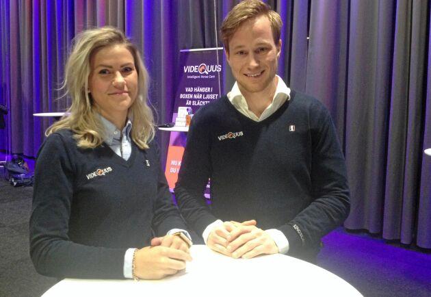 Till Hästföretagarforum i Göteborg hade Ylva Larsson och Linus Jernbom på horsetech-företaget Videquus räknat fram statistik om hästars beteende i boxen, ur mängden filmer från boxarna som fått kameror installerade.
