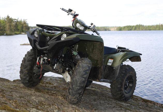 Yamaha Grizzly 700 fungerar bra till både nytta och nöje.