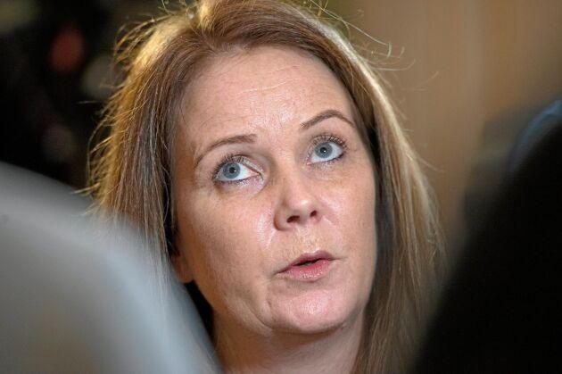 Jennie Nilsson engageras i arbetet mot dödsolyckor i jord- och skogsbruk.