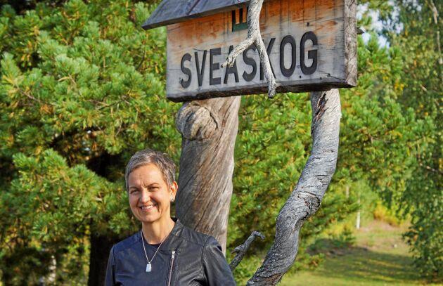 Hannele Arvonen, VD för Sveaskog.