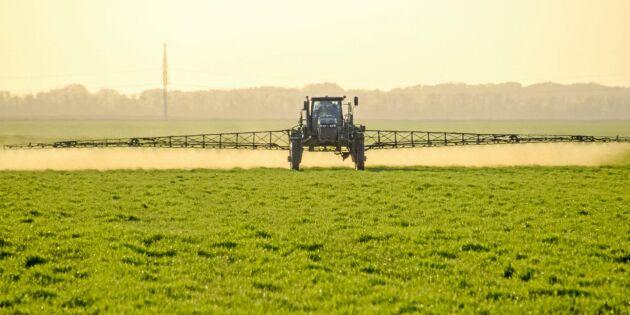 Resistens mot växtskyddsmedel växande hot