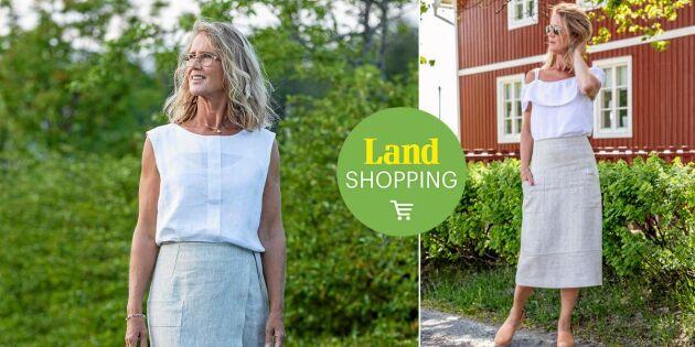Välskräddat & hållbart! Njut av sommaren i Lisas handsydda linnekläder