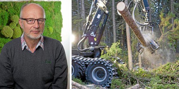 Skogsentreprenörerna: Lönsamheten är för dålig