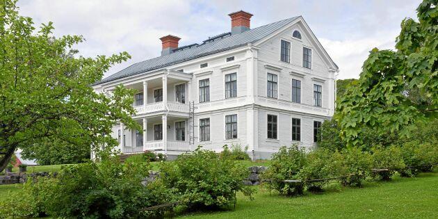 En herrgård på landet – svenskarnas dröm