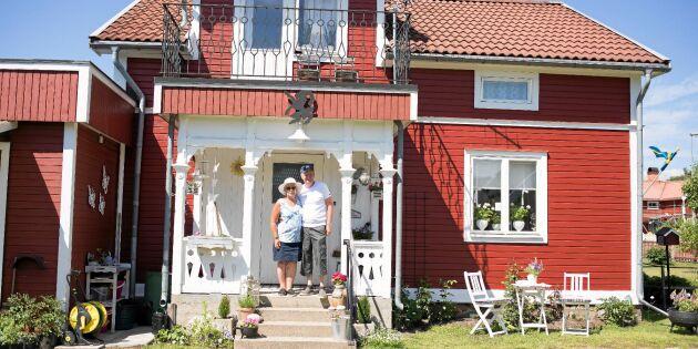 """Kent och Carina älskar sitt retrotorp: """"Vi vill inte renovera sönder husets själ"""""""