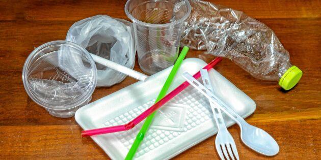 Livsmedelsjätten skippar plasten – engångsartiklarna ska bli miljövänliga