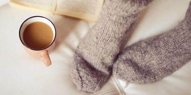 Lär dig sticka sockor – steg för steg med bilder
