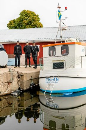 Lars-Göran, Dennis och Magnus vurmar för det småskaliga och kustnära yrkesfisket.