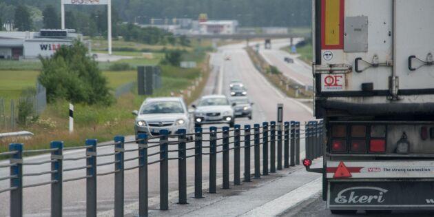 Kompakt motstånd mot nya vägslitageskatten