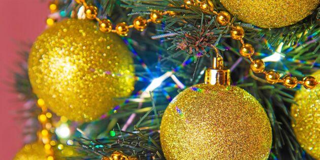 Julens glitter en miljöbov – tänk på detta innan du köper pynt
