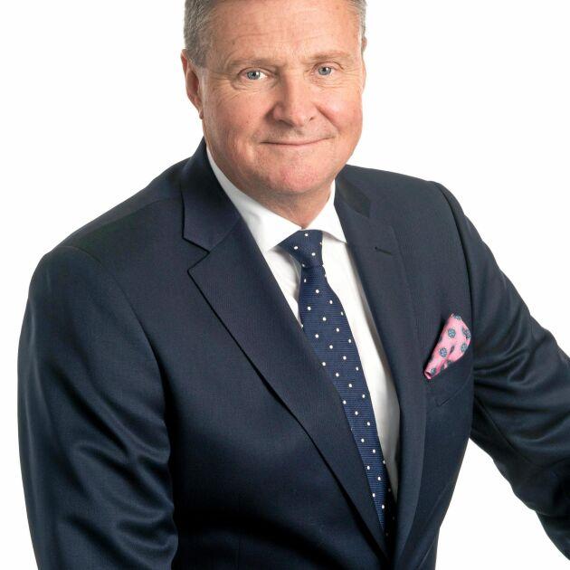 Nils Ringborg, skogsbolaget Holmens Director of International Affairs i Bryssel.