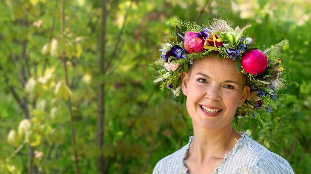 Journalisten, trädgårdsexperten och odlaren Sara Bäckmo sommarpratar den 7 juli.