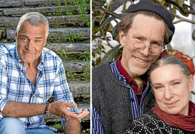 Folkkära profiler blir nästan grannar nu på försommaren: Ernsts Kirchsteiger occh Gustav och Marie Mandelmann.