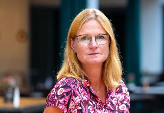 """""""Utredningens tyngdpunkt ligger på biologisk mångfald och hur mer skog ska undantas från brukande och missar äganderätten"""", anser Linda Eriksson, Skogsindustrierna."""