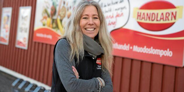 Susann lämnade karriären i Stockholm – och tog över lanthandeln i Muodoslompolo