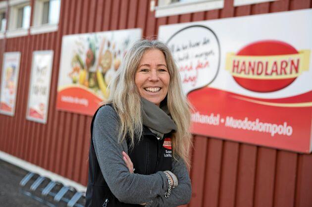 Susann Svennemyr bytte IT-världen i Stockholm mot ett liv i Muodoslompolo i Tornedalen.