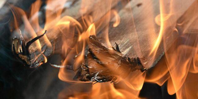 Misstänkt mordbrand på gård