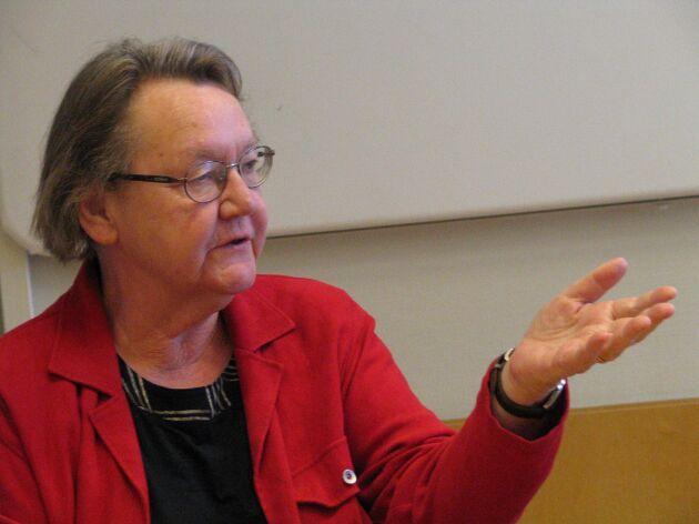 Marit Paulsen gjorde matprogram i SVT tillsammans med Monica Hörner.