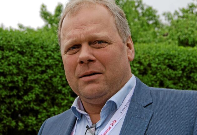 Anders Rolfsson, ordförande i Skånemejerier ekonomisk förening.