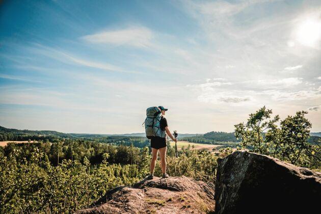 Utsikt i Halland.