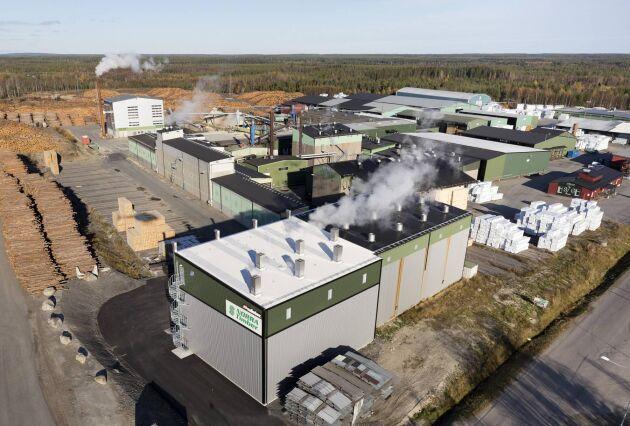 I Sävar ska Norra investera 80 miljoner i en ny såglinje.