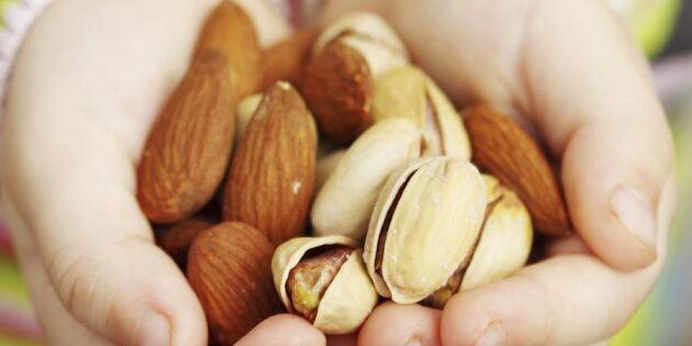Rådet från Europas främsta hjärtläkare: Ät nötter varje dag!