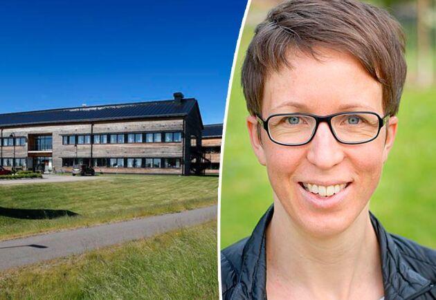 """""""Det här är ett riktigt drömjobb för mig. Jag brinner för de gröna näringarna"""", säger Maria Källming som blir ny vd för Vreta Kluster."""