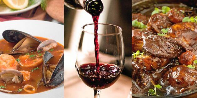 Bästa vinerna till smakrika mumsiga grytor