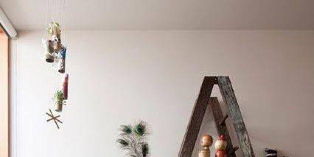 Använd den gamla stegen –19 smarta inredningsidéer!