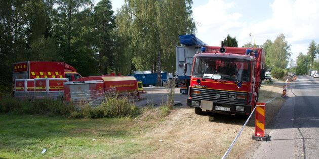 Skogsbränder rasar överallt i Sverige