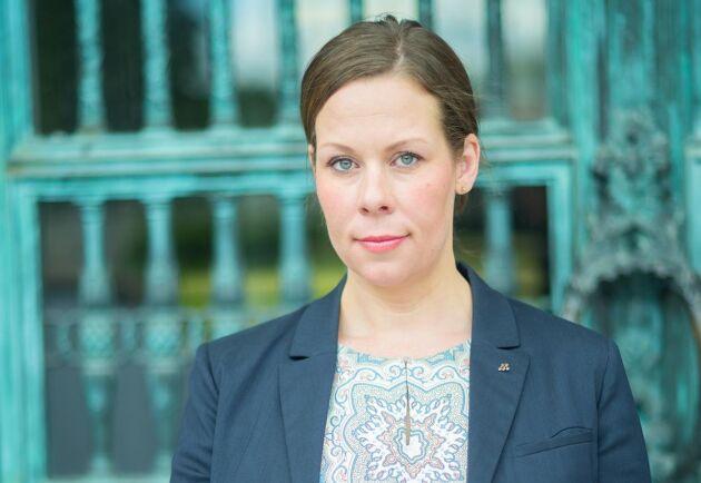 Maria Malmer Stenergard (M), miljö- och jordbrukspolitisk talesperson.