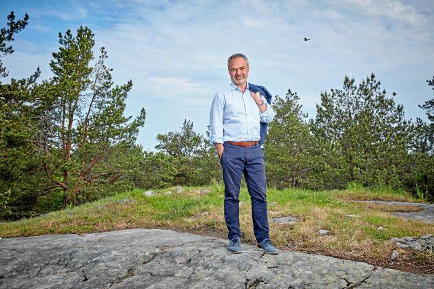 """Liberalernas partiledare Jan Björklund har fortfarande """"lantisens"""" perspektiv på grund av sin uppväxt i västgötska Skene."""