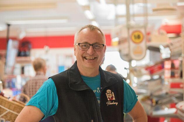 Ove Granlund arbetar hos Finnbergs sedan 2016.