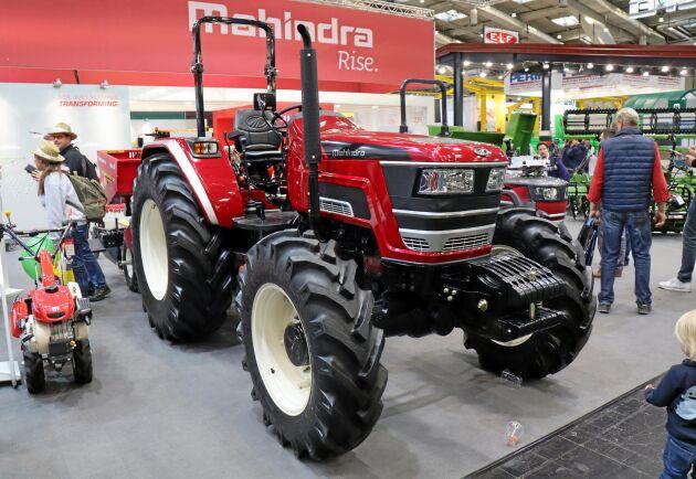 Väldens största traktortillverkare Mahindra satsar på precisionsodling för Indiens småbrukare.