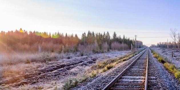 Resa på räls allt mer poppis i norra Sverige