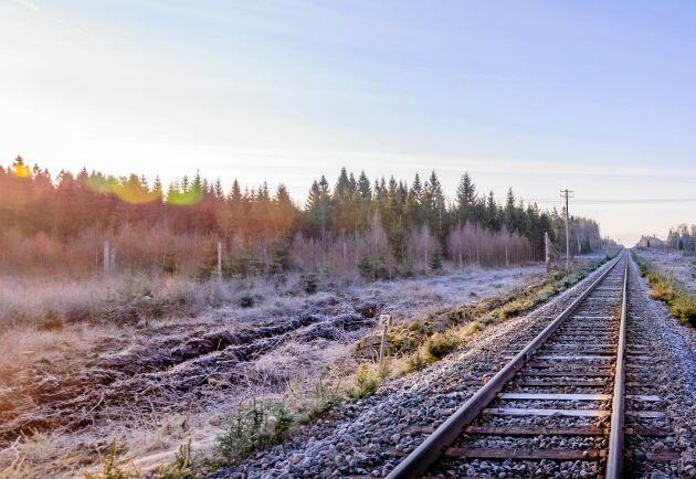 Tågresandet ökar över lag men det ökar allra mest i norra Sverige.
