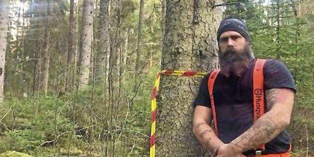 Skogsstyrelsens stopp har satt Johan i miljonskuld