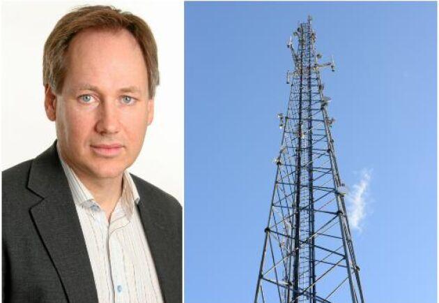Att upplåta mark till en mobilmast kan bli en bra affär. Rickard Josefson, chefsjurist på LRF Konsult. Arkivbild.