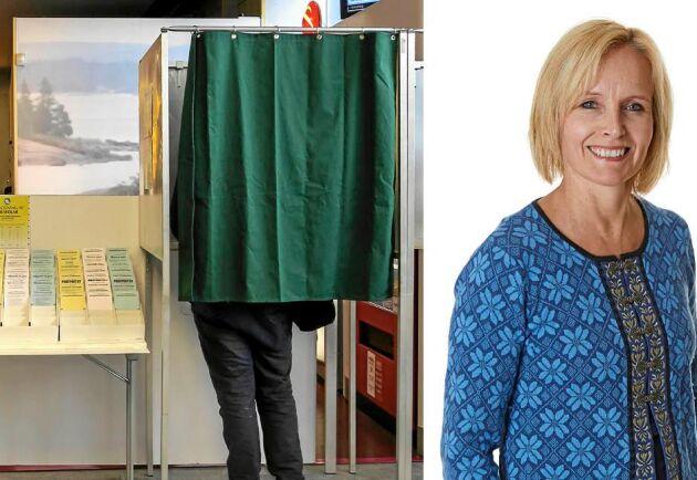 Lands bloggare Malin Ackermann är orolig för vår demokrati.