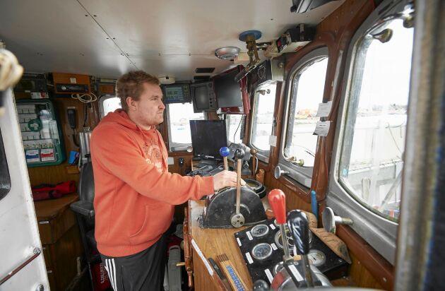 André gillar friheten till sjöss och att som fiskare är den ena dagen inte lik den andra.