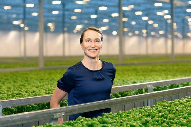 Kristin Orrestig är varuförsörjningschef på Svegro.