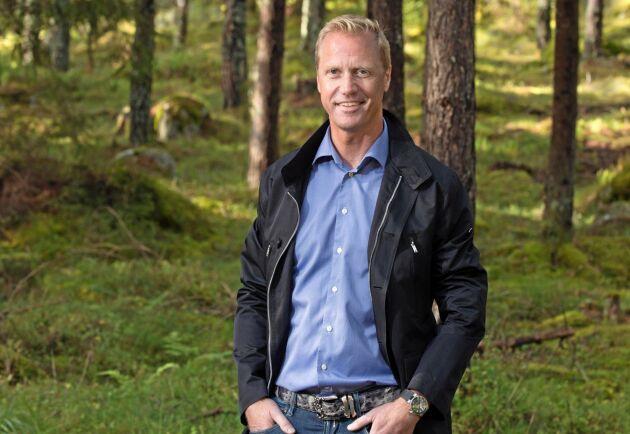 Henrik Sjölund, vd och koncernchef Holmen.