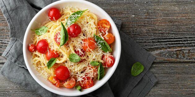 Ljuvlig pasta med lakritsdoftande tomater